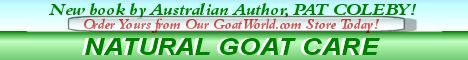 Natural Goat Care by Pat Coleby now available!